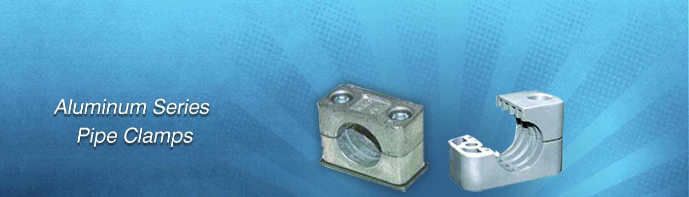 Aluminum Series Pipe Clamps